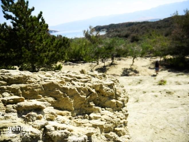 Wandern Rab Kroatien Sahara-Bucht (1)