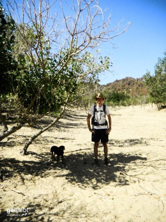 Wandern Rab Kroatien Sahara-Bucht (2)