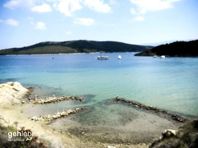 Wandern Rab Kroatien Sahara-Bucht (4)