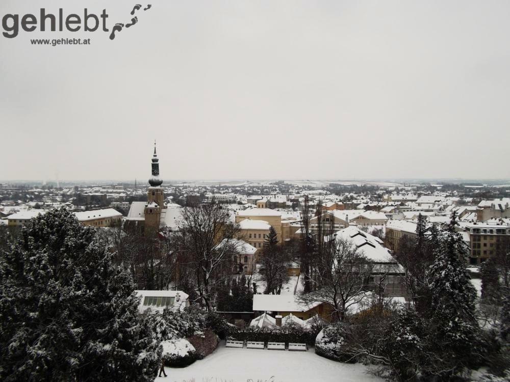 Wiener Wasserleitungsweg - Blick auf Baden