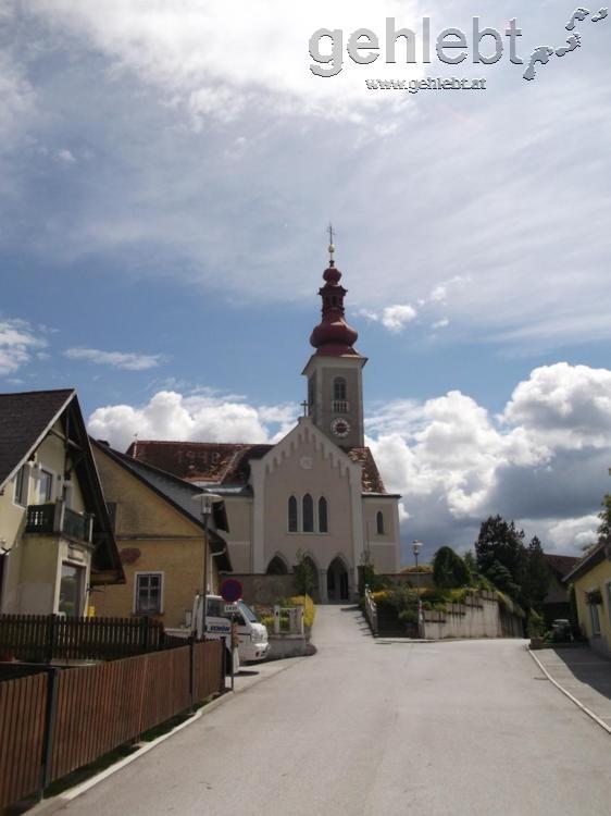 Die Kirche St. Oswald.