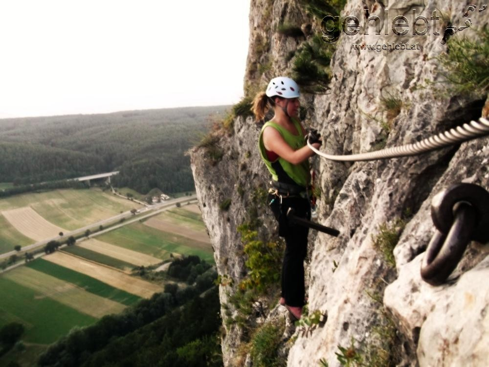 Klettersteig Niederösterreich : Pittentaler klettersteig d türkensturz gehlebt