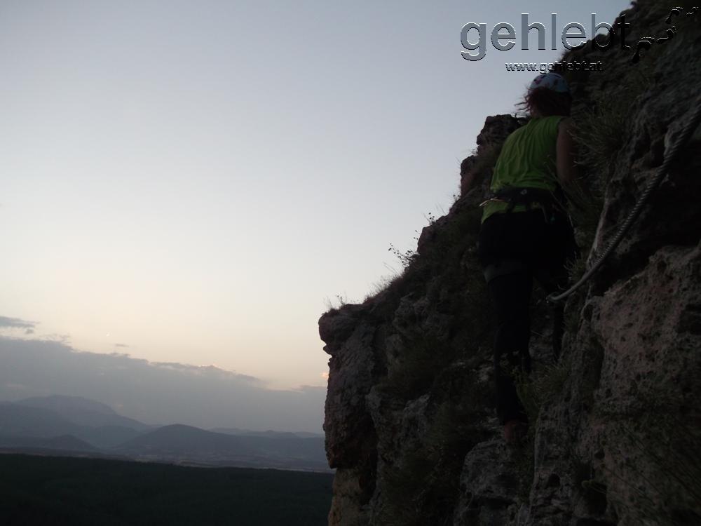 Klettersteig Türkensturz : Pittentaler klettersteig d türkensturz gehlebt
