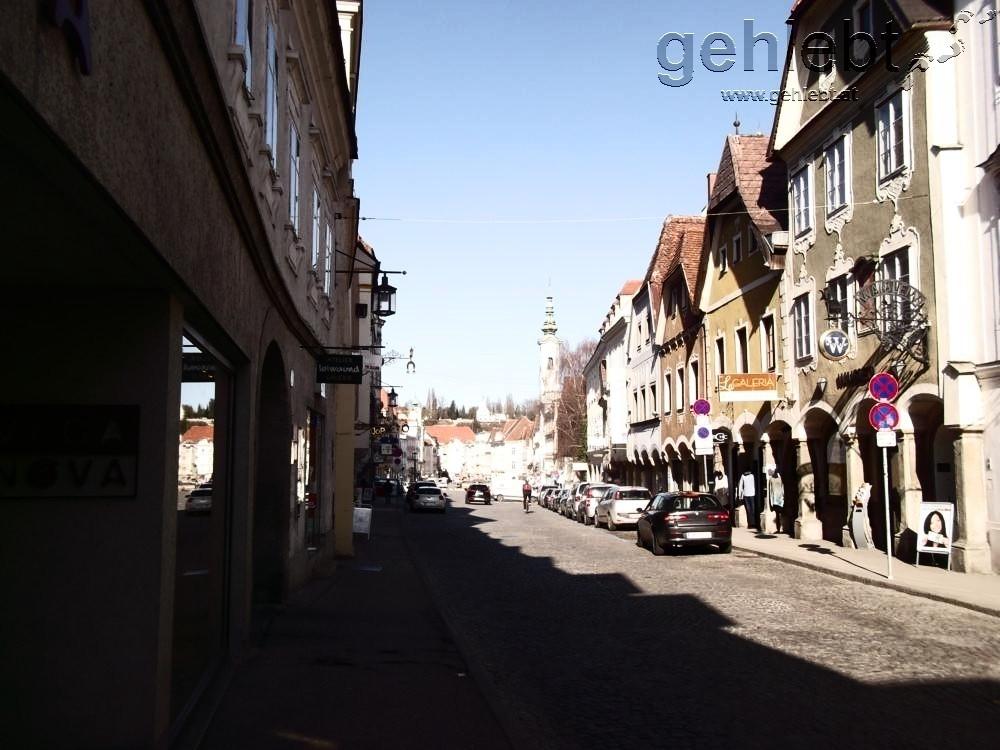 am Stadtplatz Steyr...