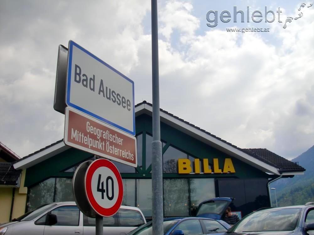 Bad Aussee blieb unser bisheriger Endpunkt.