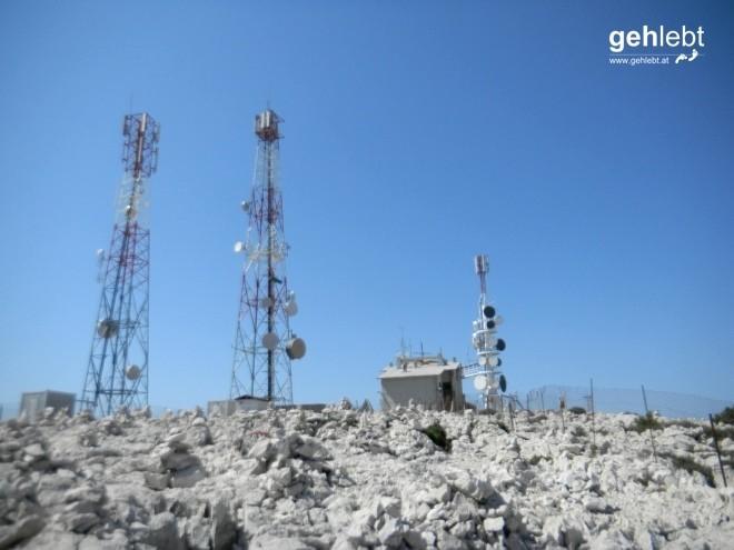 Der höchste Punkt der Insel Rab – Kamenjak (ca. 405m).