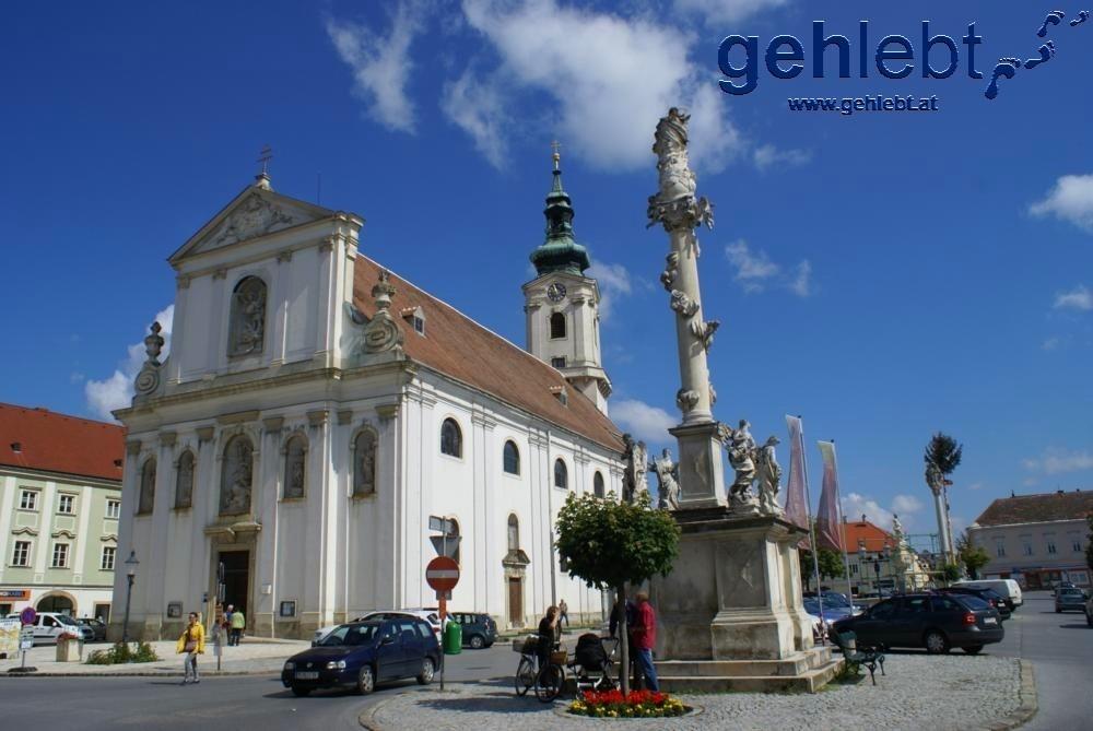 Hauptplatz in Bruck an der Leitha
