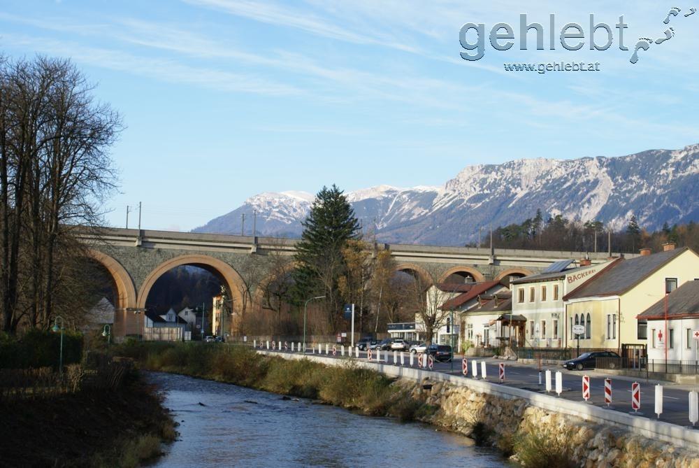 Eisenbahnbrücke bei Payerbach
