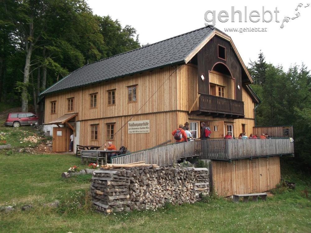 Nahe dem Saurüssel befindet sich die Waldburgangerhütte.