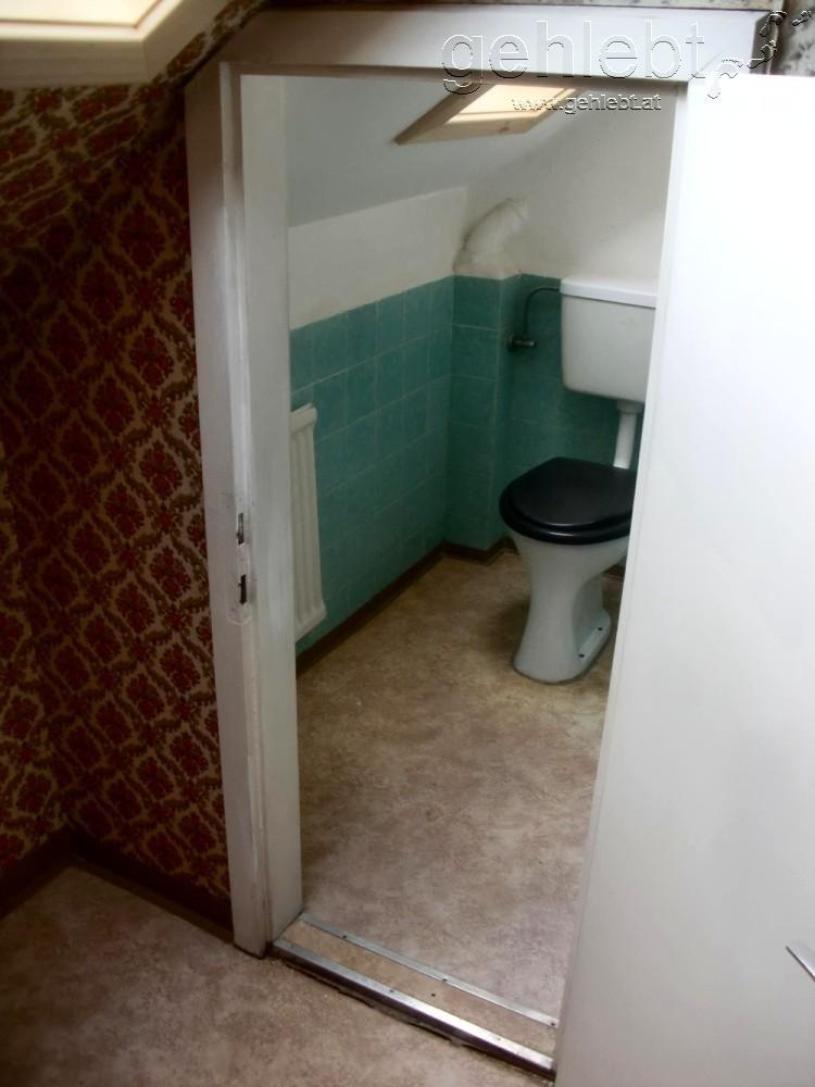 Manche Indoor-Toiletten sind auch nicht so einfach zu erreichen.