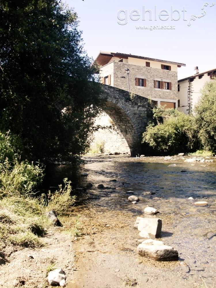 Die Tollwutbrücke in Zubiri
