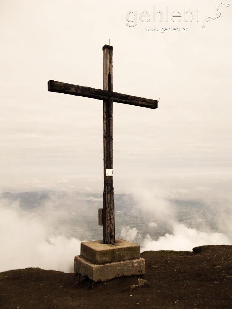Gipfelkreuz Hohe Kugel