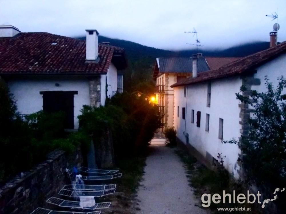 Camino - Tag 3: frühmorgens in Larrasoana
