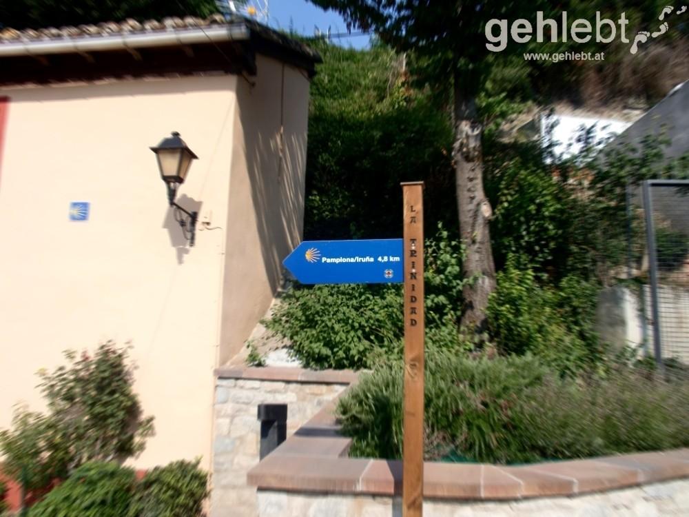 Camino - Tag 3: nur mehr wenige Kilometer nach Pamplona