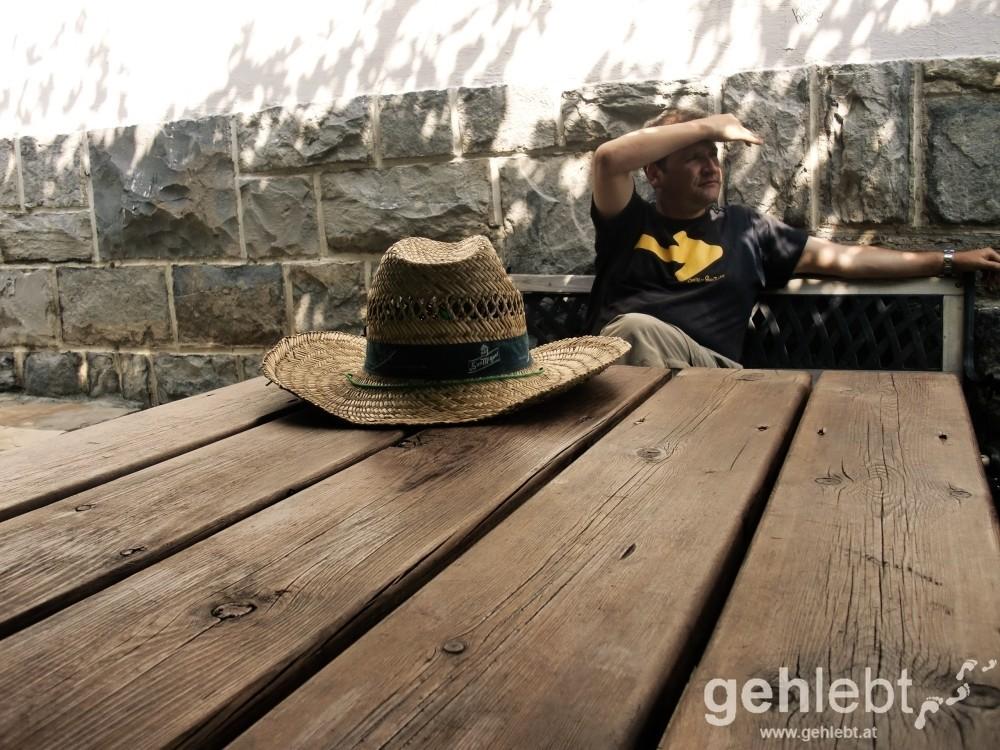 Camino - Tag 3: ein Sonnenhut...und Raimund Joos