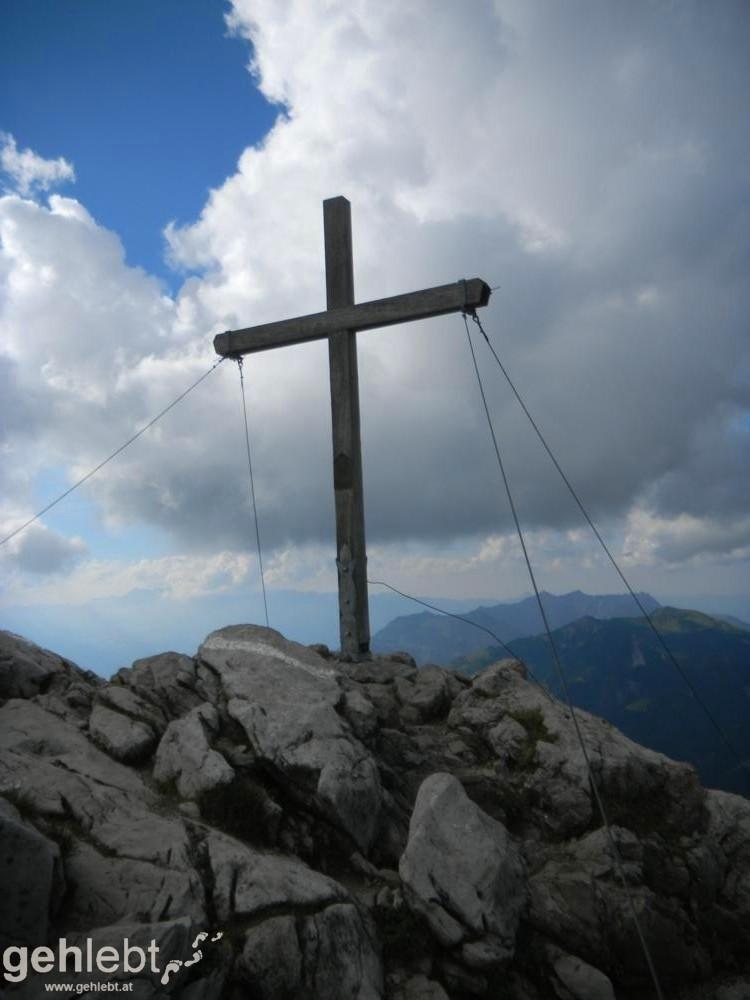 Augstenberg, Liechtenstein - Gipfel Augstenberg