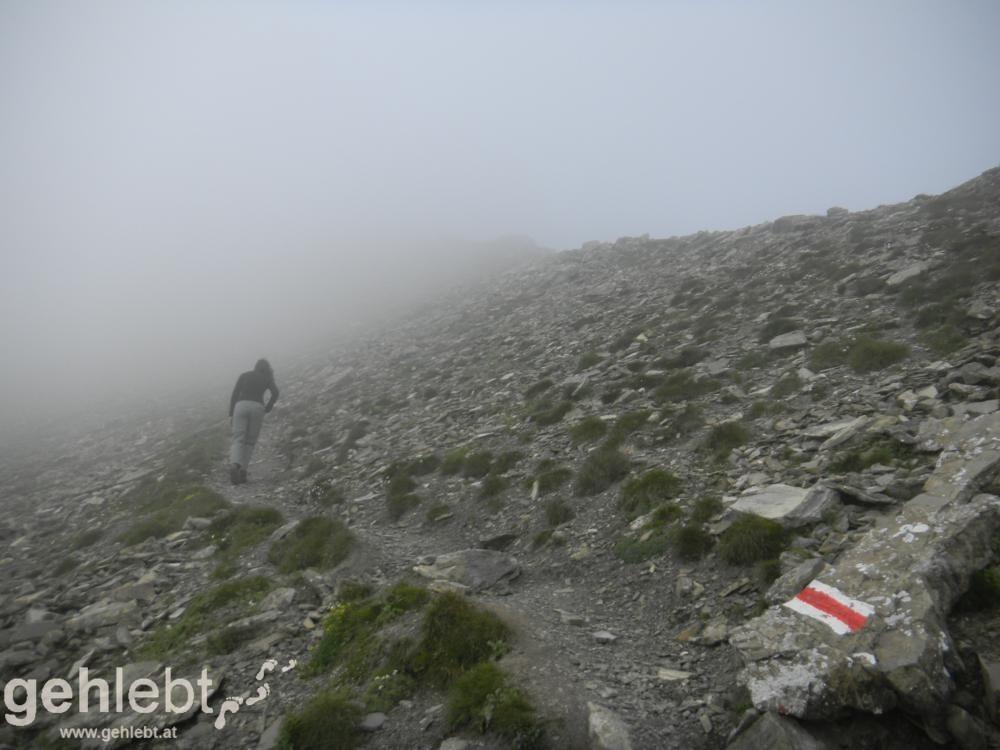 Naafkopf - Aufstieg zum Naafkopf
