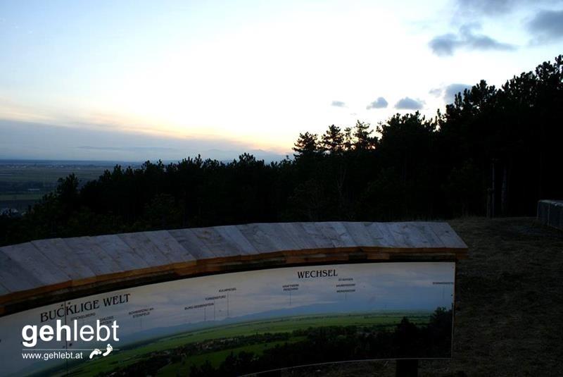 Aussichtsplatz am Blumberg.
