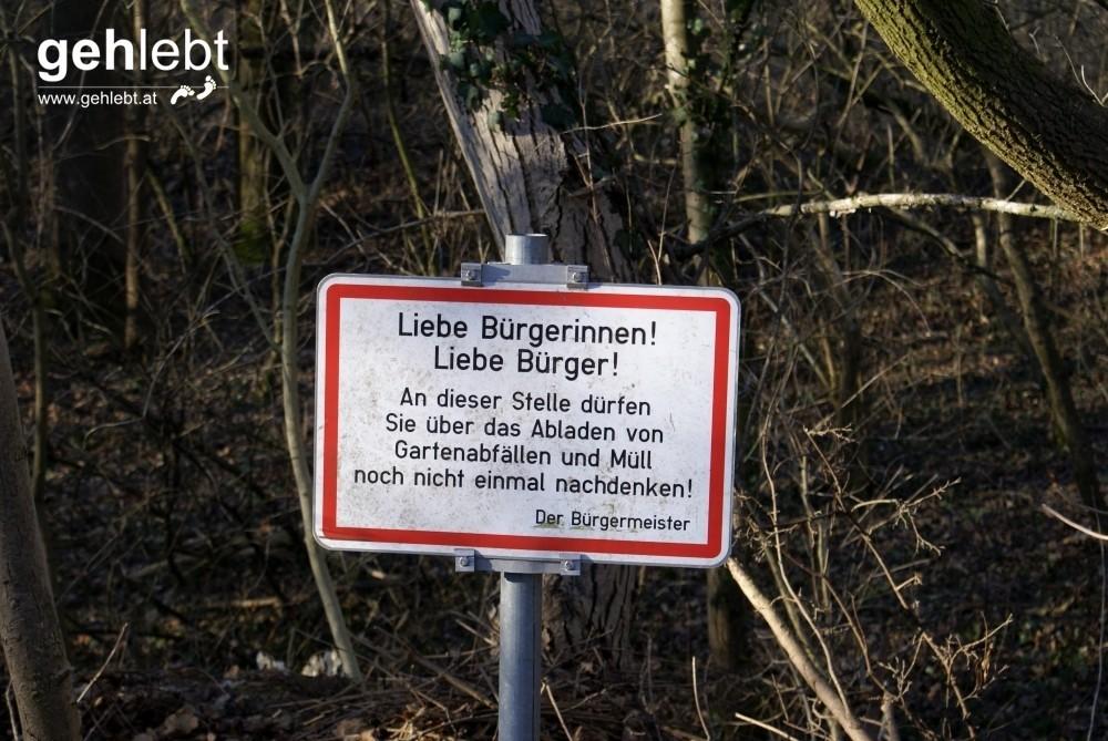 In Katzelsdorf setzt man auf keine Verbote, sondern lässt den Menschen gar nicht so weit kommen.