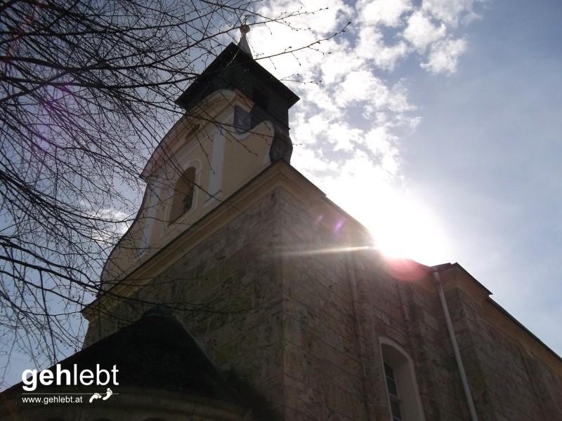 """Romanische Kirche """"Unbefleckte Empfängnis Mariae"""" in Thernberg - schon seit mindestens 865 n. Chr."""
