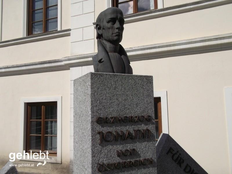Na endlich die ersten Spuren von Erzherzog Johann von Österreich.