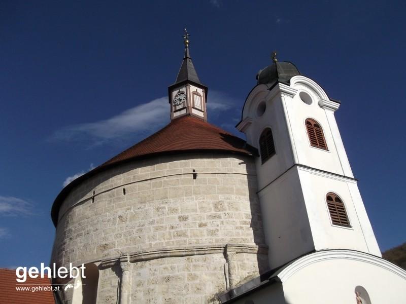 Die romanische Rundkirche von Scheiblingkirchen wurde schon im 12. Jahrhundert errichtet.