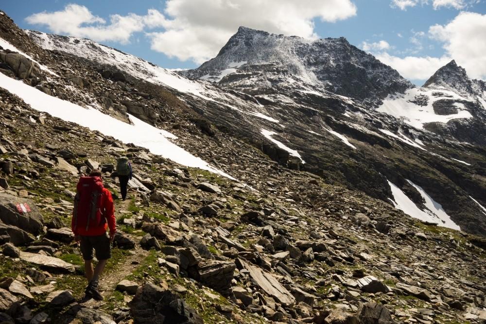 In den Hohen Tauern kann auch im Sommer noch Schnee liegen. (Foto: Christof Herrmann)