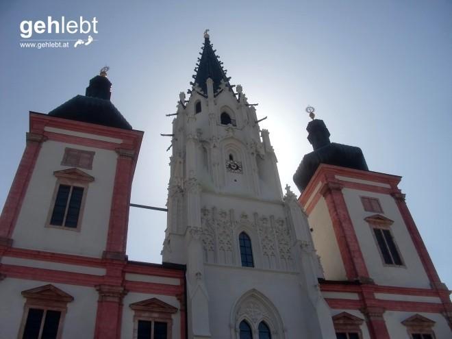 Wer sie nicht sah, war nicht in Mariazell. Die Basilika Mariazell überstrahlt wahrlich den Ort.