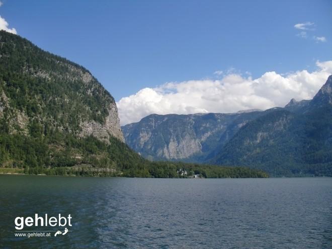 Ein bisschen Hallstätter-See muss sein am Weg zur alpinen Variante am Dachstein.