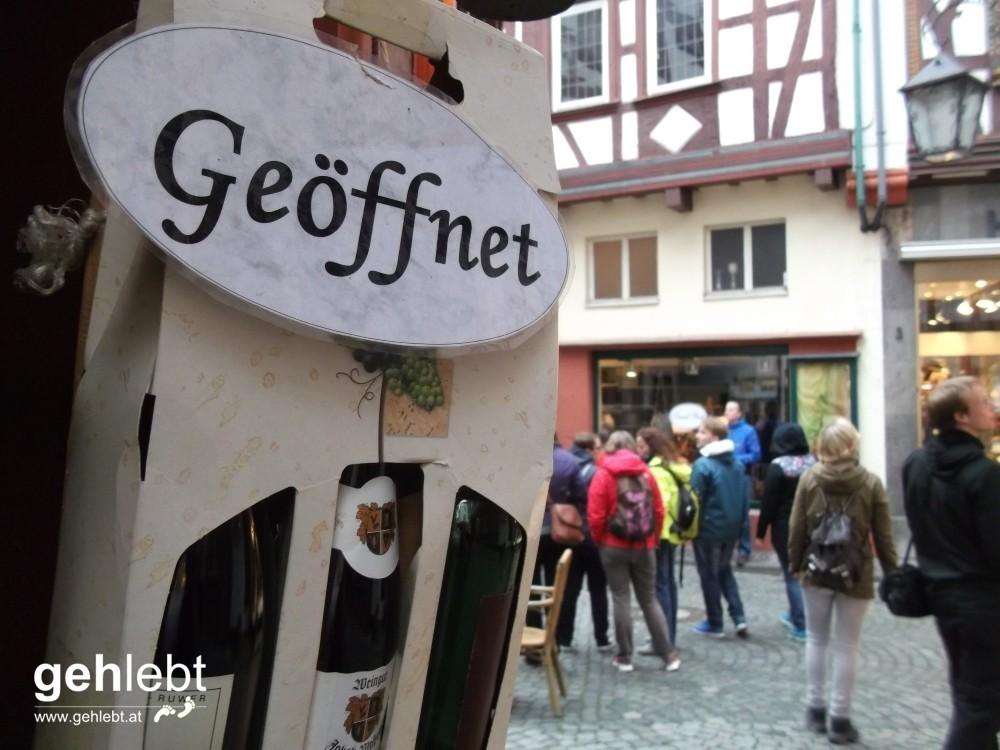 Geöffnet für alle! Zwei Millionen Nächtigungen pro Jahr in Bernkastel-Kues sagen wohl alles über die Notwendigkeit des Tourismus.