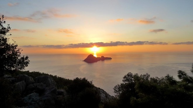 Sonnenuntergang Lykischer Weg