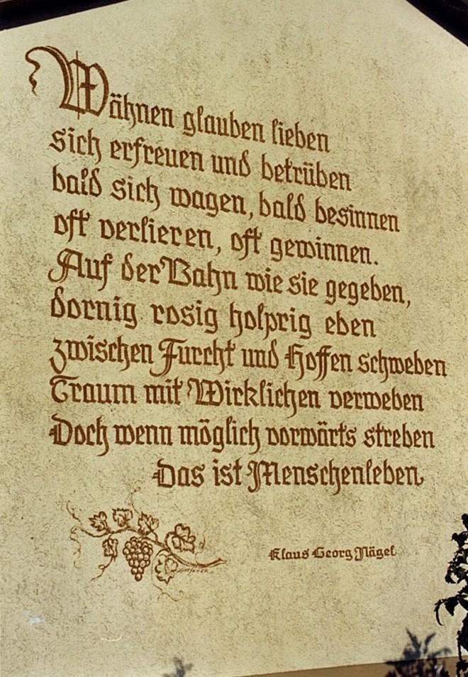 Unser Motto in Bullenheim