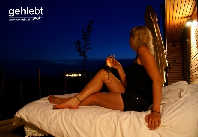 Luxus-Schlafplatz im Millionen-Sterne-Hotel.