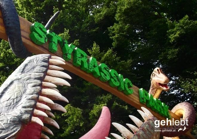 Ausflug zum Styrassic Park Bad Gleichenberg.