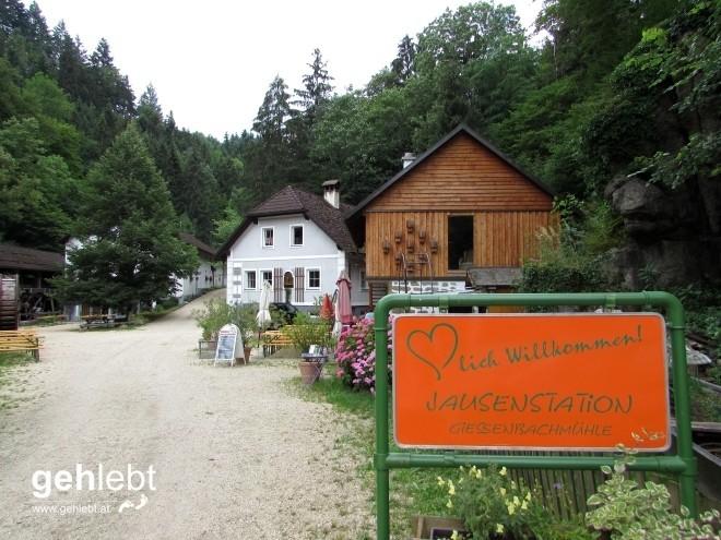 Start- und Endpunkt dieser zweitägigen Donausteig-Runde.
