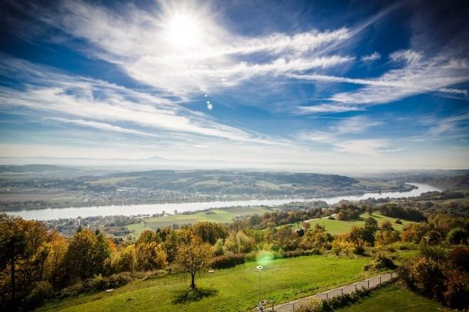 Ausblick von Maria Taferl, Weitwanderweg Nibelungengau. © Hotel Schachner / wk-photography.net