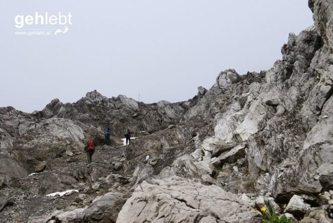 Über Fels und über Stein...