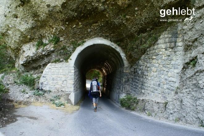 Nach vier Tagen sehe ich Licht am Ende des Tunnels.