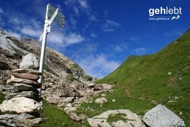 Lust auf einen Abstecher zum Klettersteig Blodigrinne auf den Drusenfluh?
