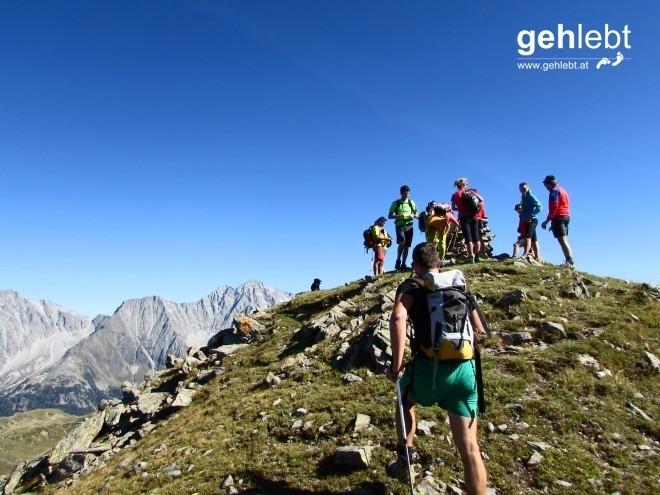 Der siebte Gipfel, Ochsenfelder, ist schnell erreicht.