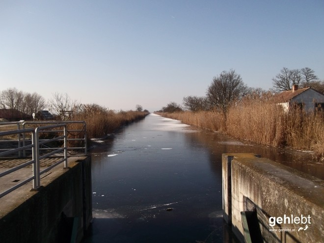 Der 1909 fertiggestellte Einser-Kanal.