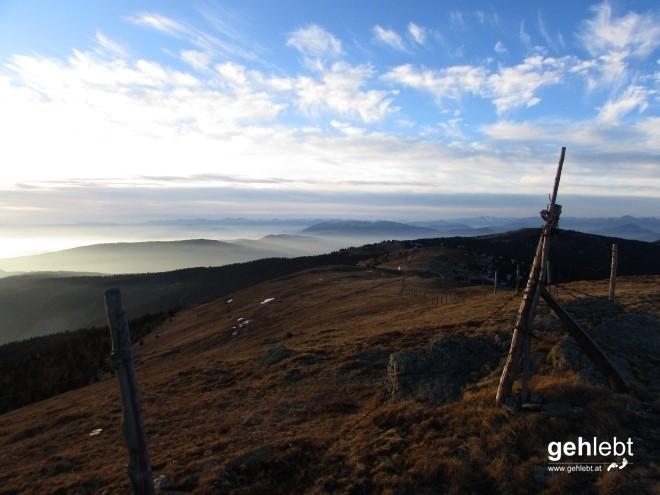 Am Gipfel der Gefühle angekommen, 1.874m Zöhrerkogel pur.