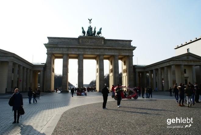 Weil es sich einfach für einen Berlin-Aufenthalt gehört.