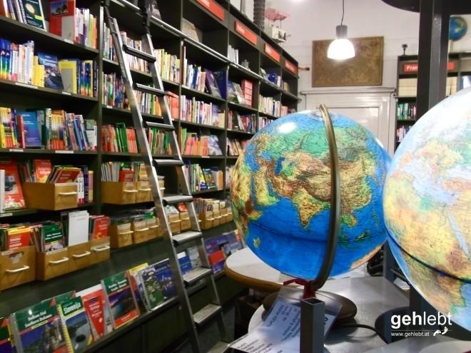 Wo die Welt eine Kugel ist: Reisebuchhandlung Schropp.