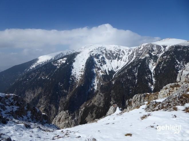 Und weil's so schön ist: Schneeberg nochmal.