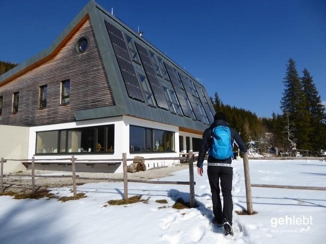 Lonesome wanderers am Naturfreundehaus Knofeleben.
