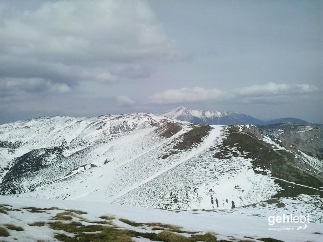 Noch ein wenig Schneeberg gefällig?
