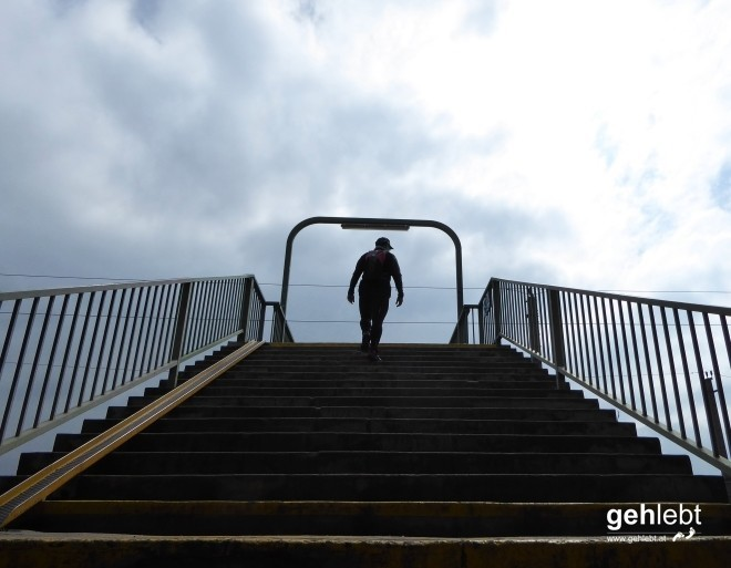 Stairway to heaven? Nö, nur Brigittenau.