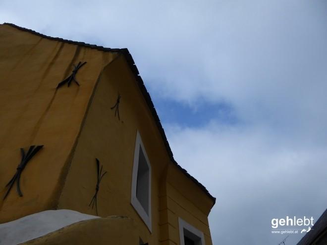 Was für eine Schönheit! Und das mittelalterliche Haus in der Agnesgasse 1 kann sich auch sehen lassen.