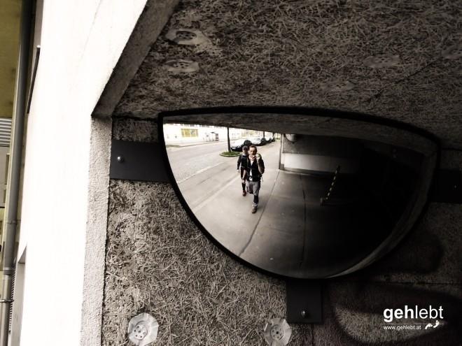 Wien: Der Spiegel einer selbst.